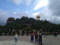 Tempel op de heuvel