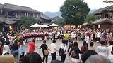 Zingen en dansen in Lijiang