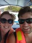 Selfie time op de boot