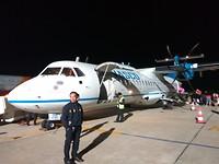 Nog nooit in zo'n klein vliegtuig gevlogen