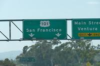 Richting San Francisco