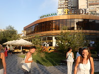 Eten in restaurant Tirol in Almaty