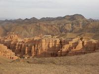 Uitzicht Sharyn Canyon