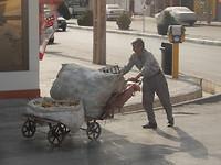 De vuilnisdienst