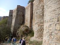 Langs de oude burcht uit 4de eeuw