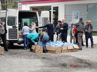 Voedselbank in Skopje