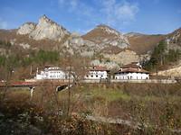 Een klooster onderweg