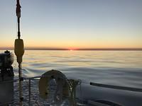 Spiegelgladde Noordzee