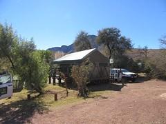 onze tent in Topli