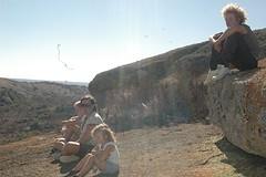relaxen op de berg