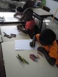 Bezoek Hindoestaanse school