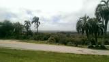 Uitzicht vanaf de heuvel bij het fort
