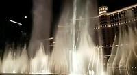 Fontein show bij Bellagio, Las Vegas