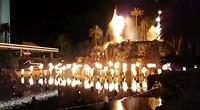 Vulkaanuitbarsting bij de Mirage, Las Vegas