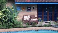 Hippo-waarschuwing in onze tuin in St Lucia
