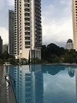 lekker rustig bij het zwembad