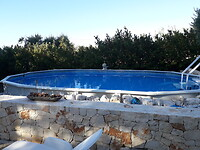 Zwembad bij de villa