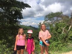 Kids op berg