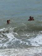 Didi samen met kids in zee 1