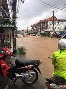 Water op straat