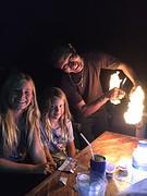 Joli en Jessa vuurwerkshow
