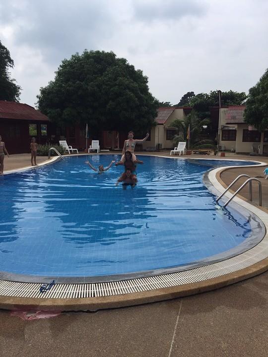 Zwembad toren