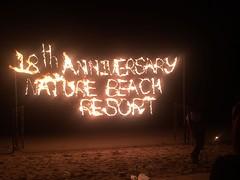 18e verjaardag in vuur en vlam
