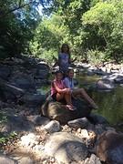 Onderweg waterval