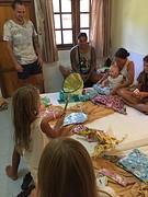 Kids cadeaus uitpakken 4
