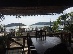 Uitzicht restaurant lunch