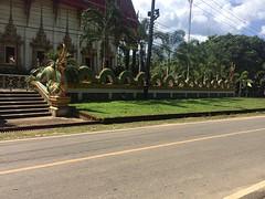 Onderweg tempel draak
