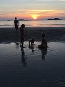 Kids zonsondergang 2
