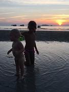 Kids zonsondergang 4