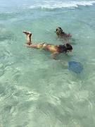Juna, Jessa snorkelen