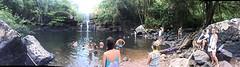 Foto waterval groot