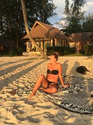 Romaine strand zit