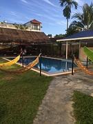 Pool party zwembad