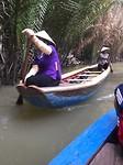 mekong delta row boat