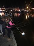 Juna lichtje in rivier 2