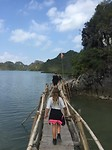 Catba houten brug