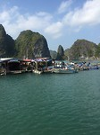 Halong bay water village