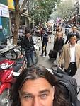 Hanoi hotel walk