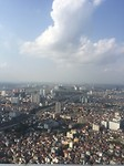 Lotte tower top of hanoi