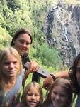 kuranda fall selfie