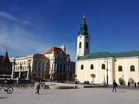 Stadshuis en Ladislau kerk