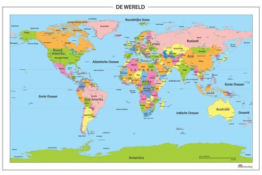Wereld kaart foto kenia - Vloerlamp van de wereld ...