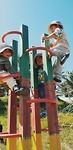 Lekker buiten spelen met de Guarderia-kids!