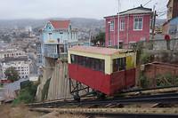 Einer der Ascensores in Valparaíso