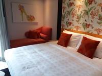 De kamer (met sofa!)