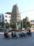 Een hindoe-tempel. Weer eens wat anders...
